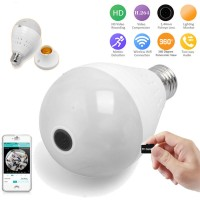 Bulb Light Lamp 960P HD WIFI IP Camera Security CCTV Video Monitor Hidden Camera