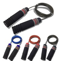 Jump Rope Speed Skipping Crossfit Workout Gym Aerobic Exercise Boxing Fitness 2.8M