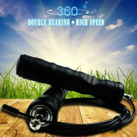 360deg Jump Rope Speed Skipping Rope Crossfit Workout Gym Aerobic Exercise Boxing Mens