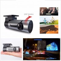 G6 HD Recorder 360 degree Wifi Mini Car DVR Video 128GB TF Card for Android or IOS