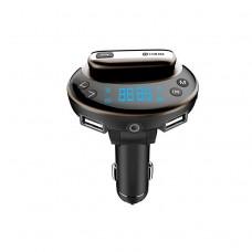 Handsfree Bluetooth FM Transmitter Car Kit Wireless MP3 Radio Player Charger Kit w/Headset Dual USB