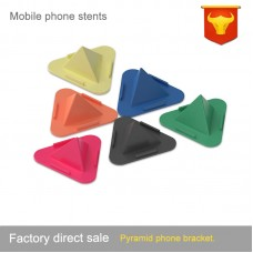 Pyramid Desk Mount Anti-Slip Cell Phone Holder Stand Dash Mat Support Magnetic Stander Gift
