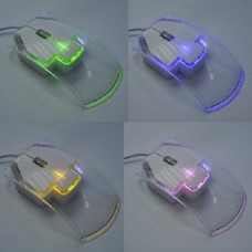 Wired Mouse Computer Photoelectric Mouse Cable Tied Optical for Notebook Laptop