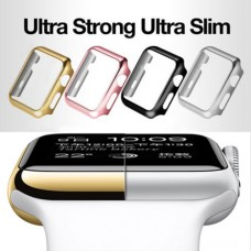 Watch Series 1 2 3 PC Hard Case Cover 38mm 42mm + Screen Protector for Apple iWatch
