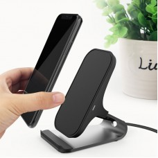 Fast QI Wireless Charger Pad Quick Charging Dock Stand For Apple iPhone X 8 Plus Samsung