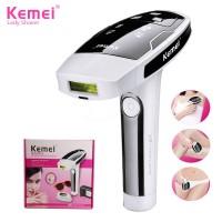 Kemei KM-6812 Permanent Laser Epilator Painless Hair Removal Device Photon Pulsed for Whole Body Bikini Epilator Lady Shaver