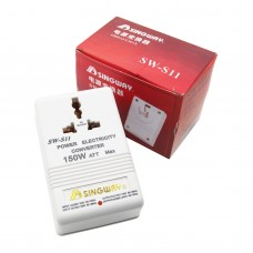 110V to 220V Step Up or Down Voltage Converter 150W Transformer Perfect for Travel Use