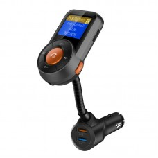Handsfree Radio Car Charger Bluetooth FM Transmitter Auto-Scan FM Wireless In-Car Radio TF