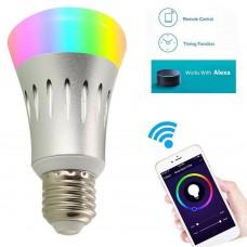 Smart Bulb WiFi Light Bulb for Echo Alexa Google Home Remote Control