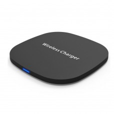 QI Wireless Charger Pad 7.5W/10W Fast Wireless Charging Pad Thin Rubber Covered For Samsung/iPhone