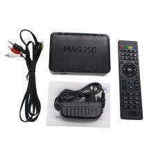 MAG250 IPTV Set Top Box STi7105 Processor TV Box Linux System 256M TV Box Wifi Media Player