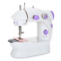 Portable Electric Mini Sewing Machine Twin Speed Handheld Sewing Machine EU Plug