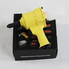 Pneumatic Air Riveter Gun Pneumatic Nut Riveter for Rivets 2.4mm 3.2mm 4.0mm