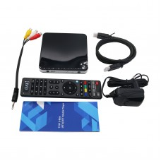 TVIP Set Top Box V.605 4K Ultra IPTV Top Box Linux Android with Remote Control