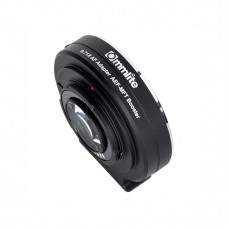 Commlite AEF-MFT Lens Mount Adapter 0.71x Focal Reducer Booster Canon EF Lens Panasonic/Olympus M4/3