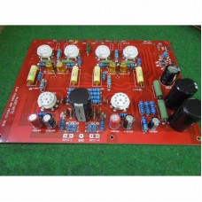 Stereo Push-Pull Audio Note EL84 PP Vaccum Tube Amplifier PCB Assembled Board