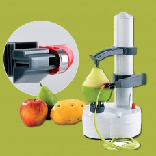 Electric Automatic Peeler Potato Fruit Apple Orange Veg Peeling Machine +2 Blade