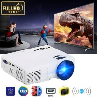 HDMI Mini Projector 1080P LED Home Theater Beamer Multimedia Video Player for Smartphone