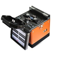 T60 Optical Fiber Fusion Splicer Automatic Fusion Splicer Machine Kit 5 Inch Digital LCD Screen