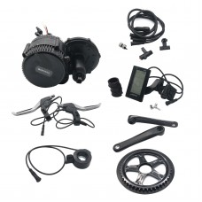 36V 500W Bicycle Motor Conversion Kit BBS02 Mid-Drive with Integrated Controller C965 LCD Display