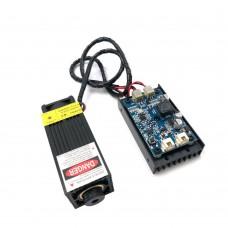 12V 2.5W High Power Laser Module 2.5W Laser Head TTL Adjustable Focus DIY Laser Engraver Accessories