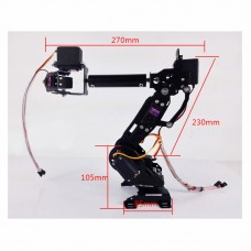 Mechanical Arm 7 Axis Robot Arm 7DOF Robot Arm High Torque Servo For DIY Education Robot Competition