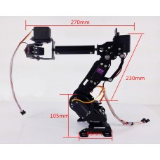 Mechanical Arm 7 Axis Robot Arm 7DOF Robot Arm DS3218 Servo For DIY Education Robot Competition