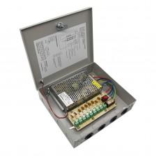 9 Channel 8CH CCTV Security Camera Distribution Power Supply Box DC 12V 10A