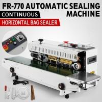 FR-770 110V Continuous Automatic Sealing Machine Sealer Horizontal PVC Membrane Bag 110V/220V