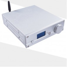 TZT D5 USB DAC ES9038Q2M DSD512 Bluetooth 5.0 MINI HIFI audio Headphone Amplifier TPA6120 XMOS 208 APT-X DC12V