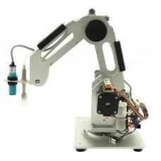 Mechanical Robot Arm 3 Axis Desktop Production Line Carry Aluminum Alloy 6061