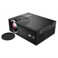 HDMI Mini Projector 1080P LED Lamp Home Theater Multimedia Video Player 1500 Luminous Efficiency