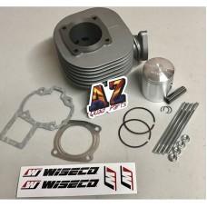 Suzuki LT80 Top End Rebuild Kit Wiseco Piston Gaskets Cylinder 87-06