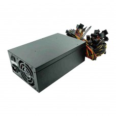 Mining Power Supply 2400W Support 10pcs Graphics Card Miner Power PFC Active High Efficiency