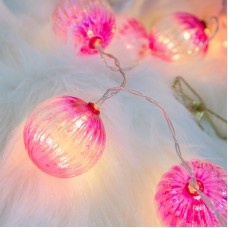 2M 3M Onion LED String Lights 10 Bulbs For Living Room Bedroom Wedding Holiday Decoration
