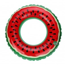 85cm Hot Swimming Pool Beach Inflatable Watermelon Swim Ring Adult Fruit Swim Ring