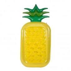 Pineapple Inflatable Water Float Raft Summer Swim Pool Lounger Beach Swimming