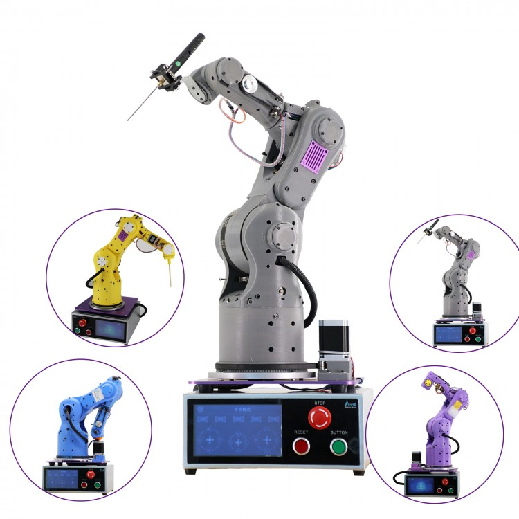 6 Aixs Robot Arm 3D Printed Fully Assembled High Precision