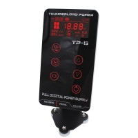 HP-2 Upgrade Tattoo Power Supply Dual Touch LCD Display Tattoo Power Supply for Tattoo Machines Red