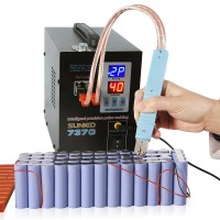 737G Spot Welder 220V 1.5KW Welding Machine LED Light for 18650 Battery Pack