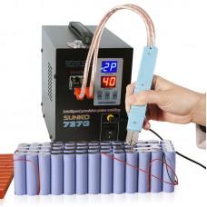 737G Spot Welder 220V 1.5KW Welding Machine LED Light for 18650 Battery Pack