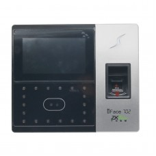 ZKTecK iFace702 Biometric Identification Time Attendance Face Reader Finger Access Attendance time Clock Software