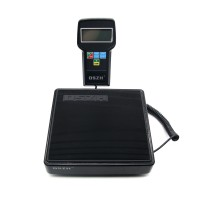 220lb Digital HVAC Refrigerant Charging Weighing Weight Electronic Scale w/ Case