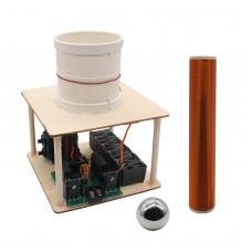 ZVS 100W DIY Tesla Coil Suit Arc Test Wireless Electricity Transmission Kits Toy 10cm +