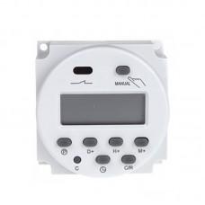 Digital LCD Relay Switch Weekly Programmable Electronic Time Timer 12V/24V/110V/220V