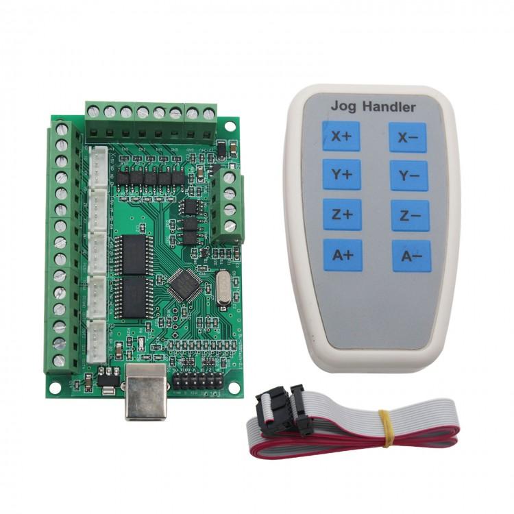 5 Axis MACH3 CNC Breakout Board 1000KHz USB CNC Motion