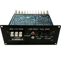 12V S100B 150W Pure Bass Power Amplifier Board C5198 A1941 Transistor Car Amplifier Board for 8-12 inch Speaker