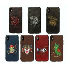 Retro 3D iPhone Case For iPhone 6 7 8 Plus X Phone Back Cover Case Fashion Design