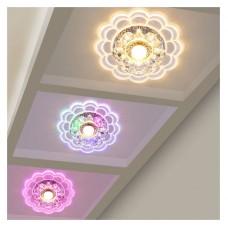 LED Colorful Ceiling Lamp Crystal Ceiling Lights Balcony Aisle Corridor Entrance Hall Ceiling Lamp