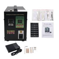 737B Spot Welder 1.5KW Battery Spot Welding Machine LED Light for 18650 Battery Pack Spot Welder